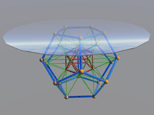Geometric Coffee Table #1